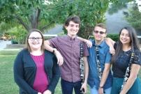 Kymmie, Destin, Brenden, Ana