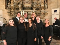 UCO Wind Symphony Clarinets in Germany