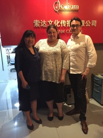 Dawn visiting Sodiam Office in Beijing