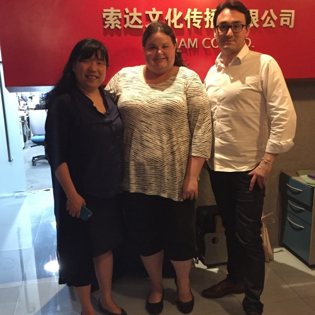 Dawn visiting Sodiam Office in Beijing